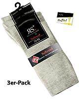 3er Pack Herrenstrümpfe Strümpfe Socken (RS-31214) - inkl. EveryHead-Hutfibel