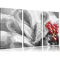 colorato cesto di frutta fresca in bianco