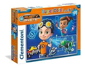 Clementoni 23720-Rusty Rivets Maxi Puzzle, 104Piezas