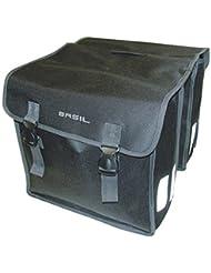 Basil Mara Xl - Bolsa doble para bicicleta, color negro