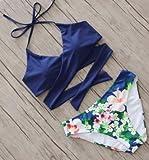 Dasuke 2017 Badeanzug, Bikini, sexy Bademode, blau, Größe S blue S