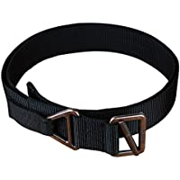 Seibertron Nylon Tactical Belt Security Special Operations Belt Tattica di alta qualità TDU Cintura larghezza 4,5 CM Black Fit waistline 40