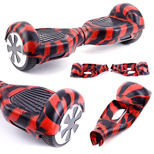 SurePromise One Stop Solution for Sourcing 6,5 Zoll Hoverboard Self Balancing Elektro Scooter Hülle Silikon Schutzhülle Rutschfest Kratzfest