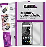 dipos I 4X Schutzfolie klar passend für Oukitel U22 (5,5 Zoll) Folie Bildschirmschutzfolie (2X Vorder- und 2X Rückseite)