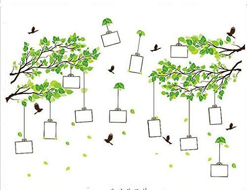 Bäum mit Bilderrahmen Kreativ Einfach Wandsticker Mode-Stil PVC Klebeband Aufkleber Wandaufkleber Für die Wanddekoration Schlafzimmer Kinderzimmer(60 * 90cm) ()