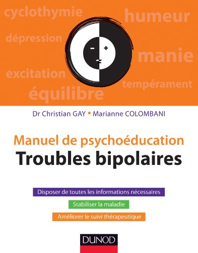 Manuel de psychoéducation - Troubles bipolaires (Hors collection)