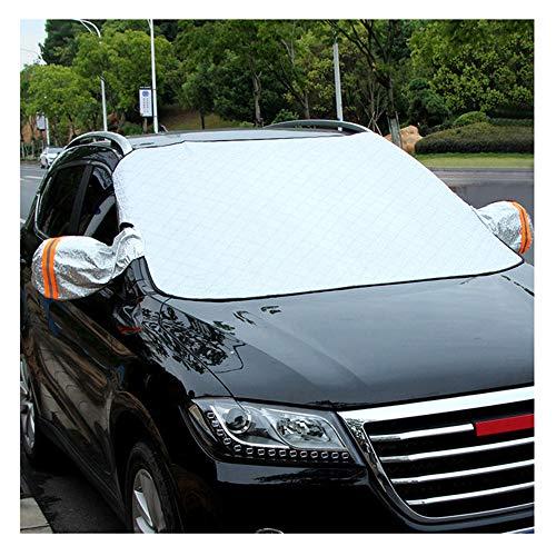ZMCOV Frontscheibenabdeckung Auto Magnet, Mit Seitenspiegelabdeckung Für Die Gegen Schnee, EIS, Frost, Staub, Sonne Windschutzscheibenabdeckung