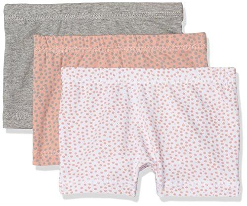NAME IT Baby-Mädchen Höschen Nmftights 3P Rose Tan Noos, 3er Pack, Mehrfarbig (Rose Tan), 98 Kinder Mädchen Höschen