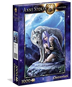 Clementoni 39465 - Anne Stokes Puzzle Protector, 1000 Unidades