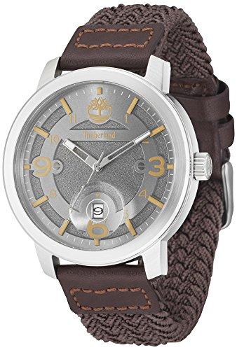 Timberland Herren Analog Quarz Uhr mit Nylon Armband 15017JS/13