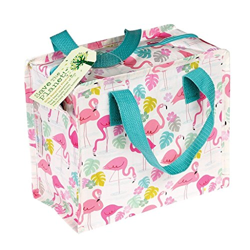 "dotcomgiftshop Kindertasche 26967 Charlotte Bag ""Flamingo Bay"" mit rosa Flamingos recycled"
