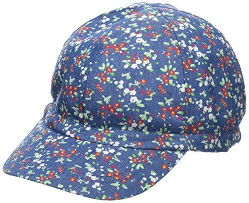 Döll Baby-Mädchen 1935200515 Kappe, Blau Denim Blue 0013, 51 (Floral Mädchen Denim)