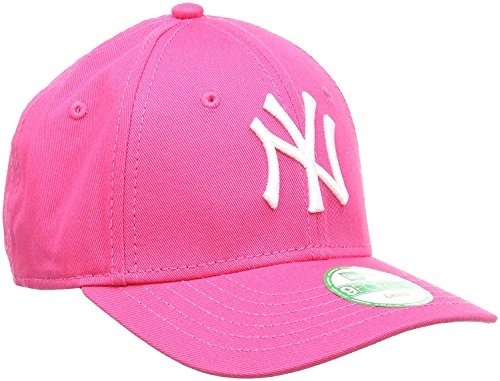New Era Cap KIDS 940 LEAGUE BASIC NEW YORK YANKEES hot pink white (Youth Alter 6-10...