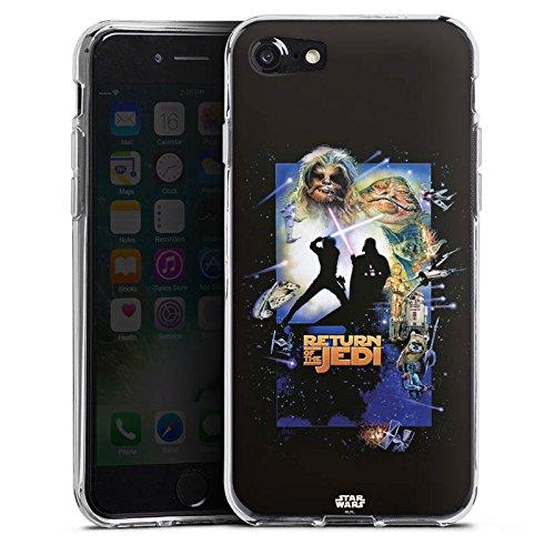 Apple iPhone X Silikon Hülle Case Schutzhülle Star Wars Merchandise Fanartikel Return Of The Jedi Silikon Case transparent