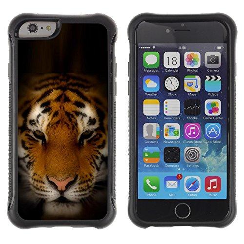 Graphic4You Baby Tiger Tier Design Shockproof Anti-Rutsch Weichen Hülle Case Tasche Schutzhülle für Apple iPhone 6 Plus / 6S Plus Design #5