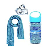 Cooling Towel Ice Cold Quick Dry Fitness Towels for Instant Relief, 100 x