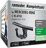 Rameder Komplettsatz, Anhängerkupplung starr + 13pol Elektrik für Mercedes-Benz C-KLASSE (142972-06224-1)