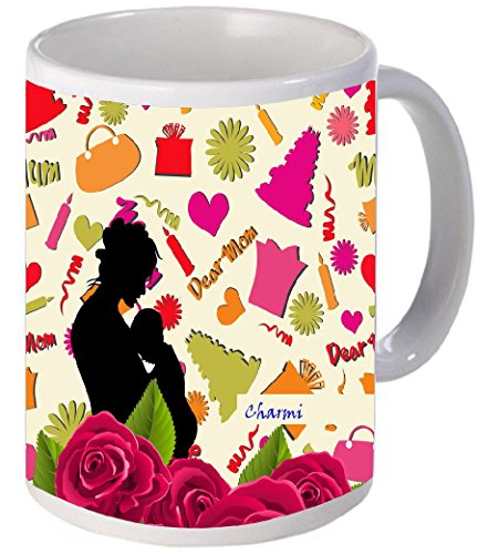 Charmi-Beautiful-Signature-printed-Unique-Gift-For-Women-From-Son-or-Daughter-Perfect-Present-Idea-For-Her-a-New-Mother-Wife-Sister-or-Grandma