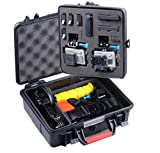 need a floaty, watertight, dustproof case, smacase ga500 is your best choice! [smacase ga500] offers innovative features for unmatched strength and durability in protecting your gopro cameras and lots of essential accessories. made of abs materials a...