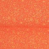 Baumwolljersey marmoriert orange Modestoffe Kinderstoffe