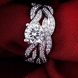 Ogquaton Tiara da sposa corona da sposa di qualit/à premium elegante strass cristallo artificiale lucido strass principessa tiara da sposa corona gioielli per capelli per la festa nuziale