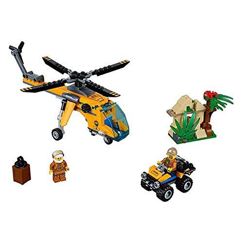Preisvergleich Produktbild Lego City 60158 - Dschungel-Frachthubschrauber
