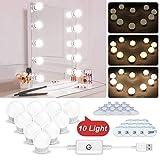 N NEWKOIN Maquillage Lumière, USB Miroir Mirror Lights LED Mirror Light avec 10...