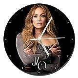 MasTazas Jennifer Lopez JLO B Orologio da Parete Wall Clock 20cm