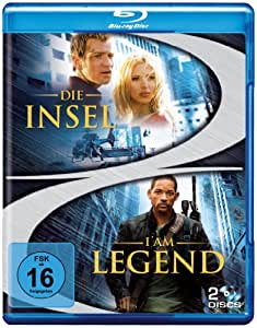 Die Insel & I am Legend (2 Discs) [Blu-ray]
