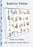Beatrix Potter 99 Cliparts Book Part 2 ( Peter Rabbit ): Sticker, Icon, Clipart, Cliparts, download, Internet, Dropbox, Original, Children's books,  children, ... kindergarten, office, student, invitation