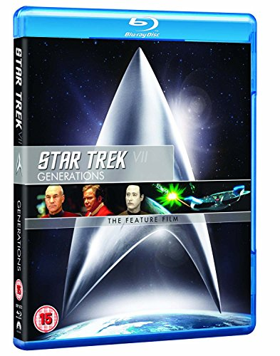 Star Trek 7: Generations (Remastered) [Blu-ray] [UK Import]