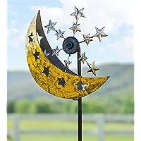 Vento e solare Luna e Stelle in metallo GIRANDOLA