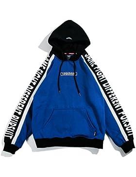 DZYZ Mens hipster hip hop manica corta / manica lunga manica lunga Pullover Hoodies T ShirtsThickening (varie...