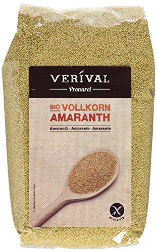 Verival Amaranth - Bio, 3er Pack (3 x 500 g Beutel) - Bio
