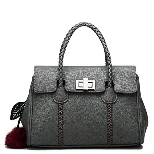 GBT Die neuen Art- und Weisehandtaschen-Schulter-Beutel-Damen gray