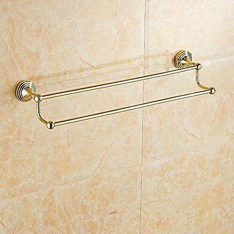 Oro e rame continentale asciugamano asciugamano rack bar bagno hardware