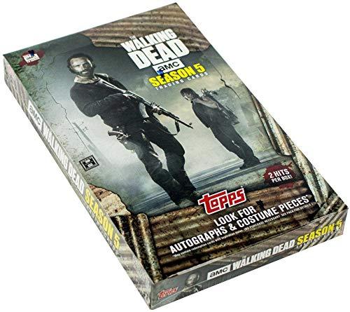 2016 TOPPS auslaendische Drama The Walking Dead Season 5 Trading Card [BOX] THE WALKING DEAD: Staffel 5 (Walking Dead Staffel 5 Box Set)