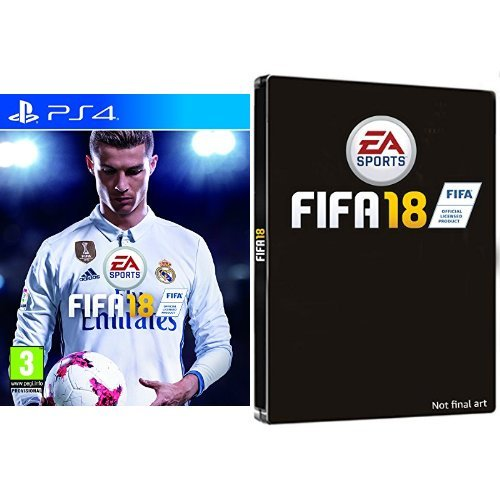 FIFA 18 + Steelbook Esclusiva Amazon - PlayStation 4