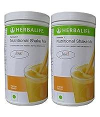 Herbalife Formula 1 Nutritional Mango Shake (1 Kg) - Pack of 2