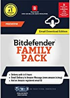 BitDefender Family Pack - 5 Devices, 1 Year (Email Delivery in 2 hours- No CD)