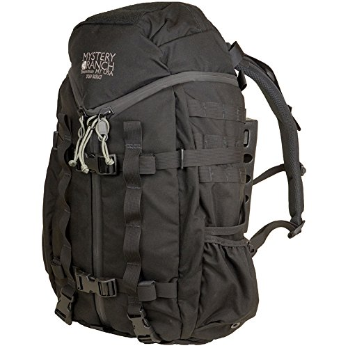 Mystère Ranch 3 Day Assault Tactical BVS 33L Sac à dos, mixte, 3 Day Assault Tactical BVS, noir