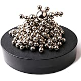 Magnetic Sculpture Desk Toy For Intelligence Development And Stress Relief With Stainless Steel Ball Stress Relief Office Decoration(Set Of 170 Balls