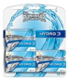 Wilkinson - Hydro 3 - Lames de rasoir pour Homme - Pack de 12