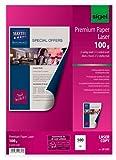 Sigel LP321 Premium-Laser/Kopier-Papier, A4, 500 Blatt, superweiß, beidseitig bedruckbar, 100 g - weitere Grammaturen