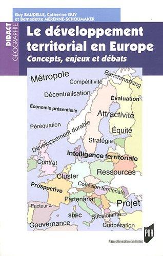 Le développement territorial en Europe : Concepts, enjeux et débats