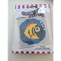 Beginners Child Cross Stitch Embroidery Kit FISH