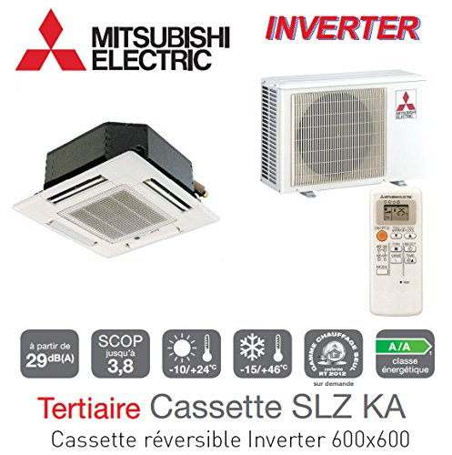 CASSETTE REVERSIBLE INVERTER 600X 600MISTUBISHI–SLZ-KA50VA (L)