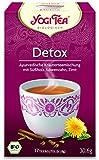 10 x Yogi Tee BIO Detox (=10er Pack) (frachtfreie Lieferung innerhalb Deutschlands)