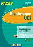 Image de Biophysique - UE3 PACES - 3e éd. : Manuel, cours + QCM corrigés
