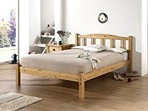 Best Seller - Snuggle Beds Amberley - Antique Wax - Sizes Available - Solid Wood - Sturdy Build